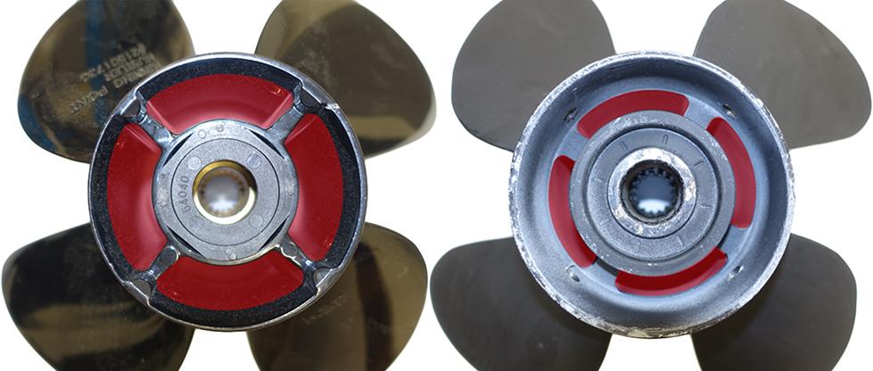 hustler aluminum boat propellers