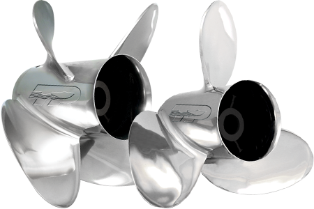 Stainless Steel Boat Propeller Image